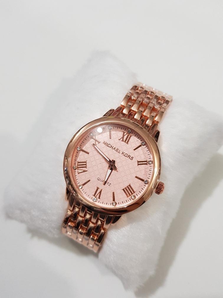 e2ea7591b0679 relógio feminino rose prata dourado barato atacado. Carregando zoom.