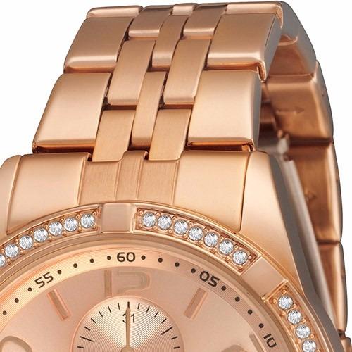 3c0ba306ffc Relógio Feminino Seculus Analógico Social Rose Gold - R  199