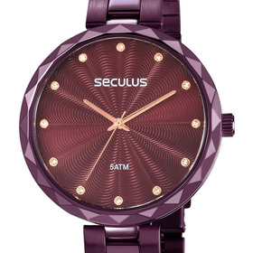 Relógio Feminino Seculus Glamour 77039lpskfs2