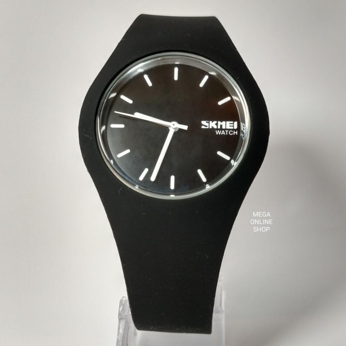 d75b5d4578f relógio feminino skmei-9068 - original - analógico - preto. Carregando zoom.
