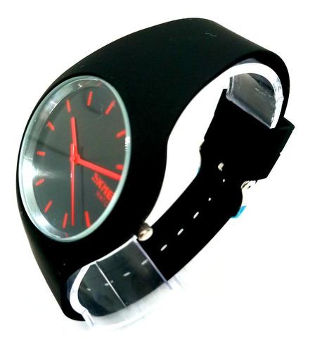 relógio feminino skmei analógico 9068 preto