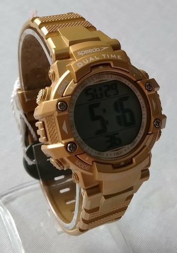 relogio feminino speedo dourado ref80631loevnp1 original.