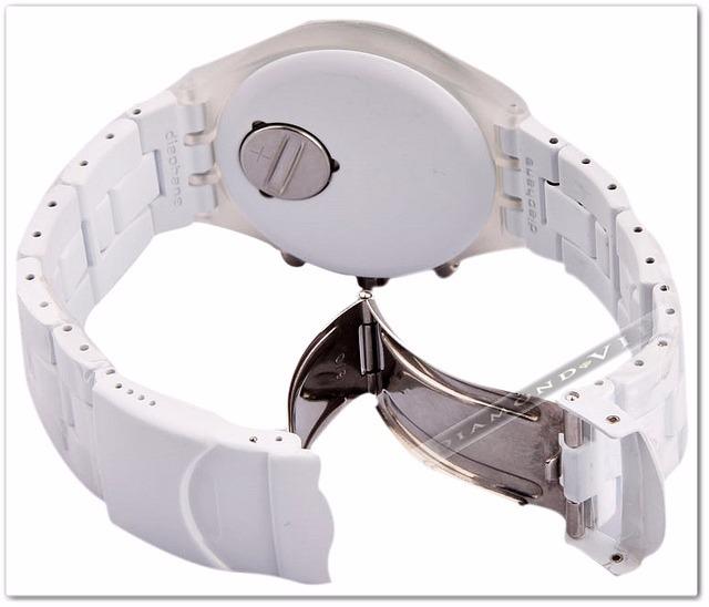 185c8e24dc4 original relógio feminino swatch branco irony skull caveira · relógio  feminino swatch
