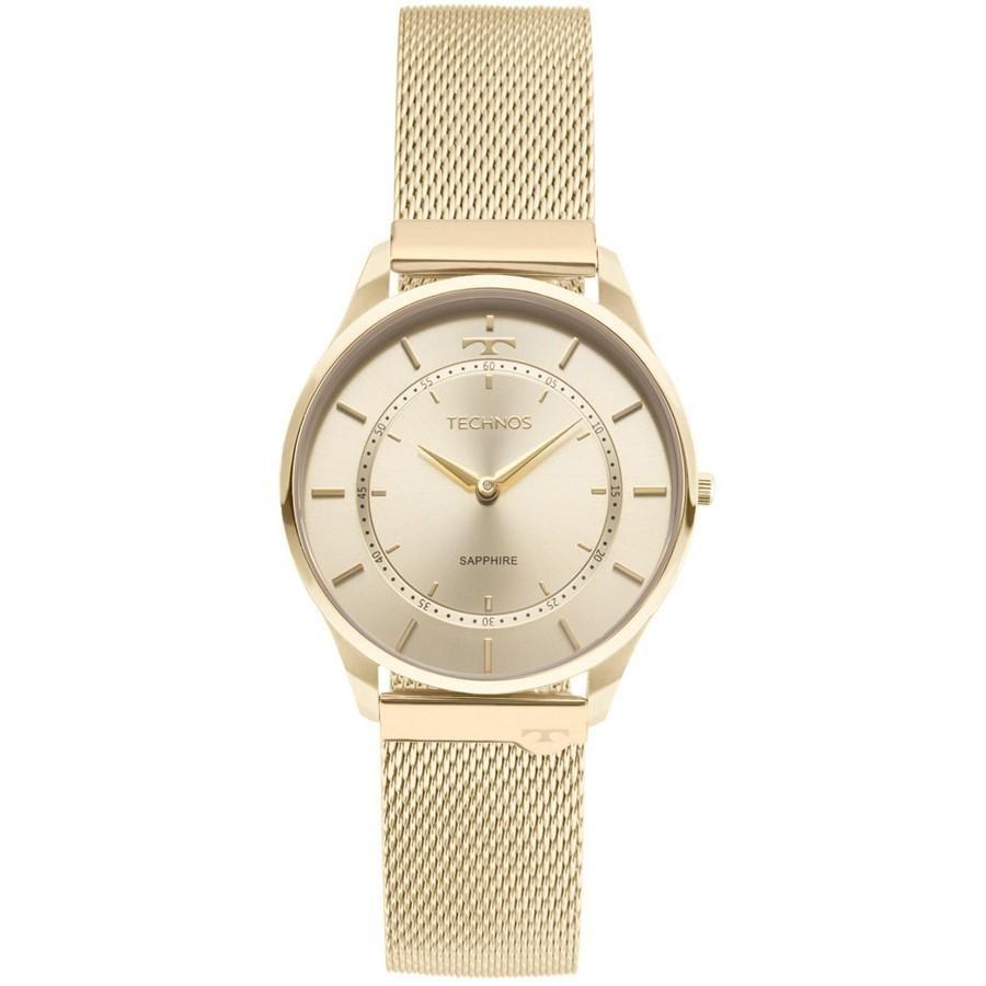 6062c575269e0 Características. Marca Technos  Modelo 9T22AK 4X  Gênero Feminino  Material  da correia do relógio de pulso Aço inoxidável ...