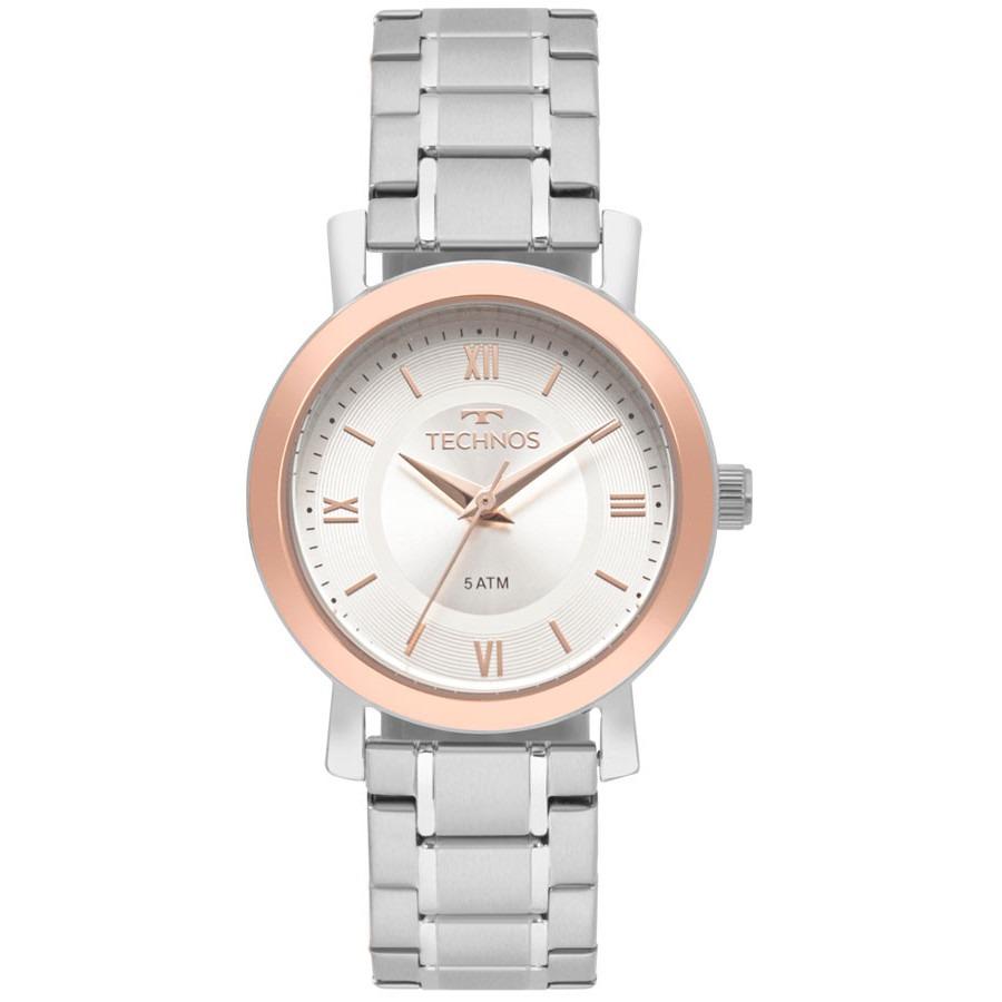 3079852dacf Relógio Prata Feminino Technos 2035mmr 5k Promoção Barato - R  230 ...