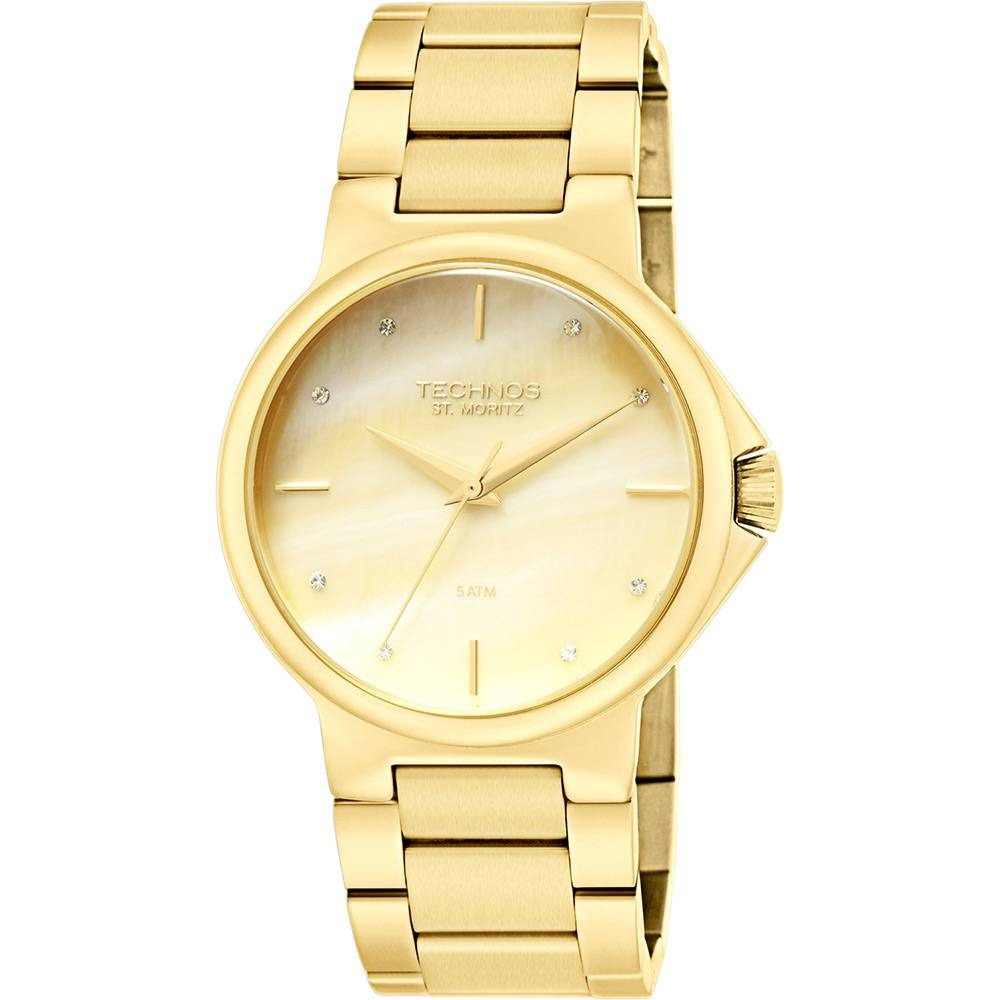0f08eae2761 relógio feminino technos analógico 2035lwk 4x loja oficial. Carregando zoom.