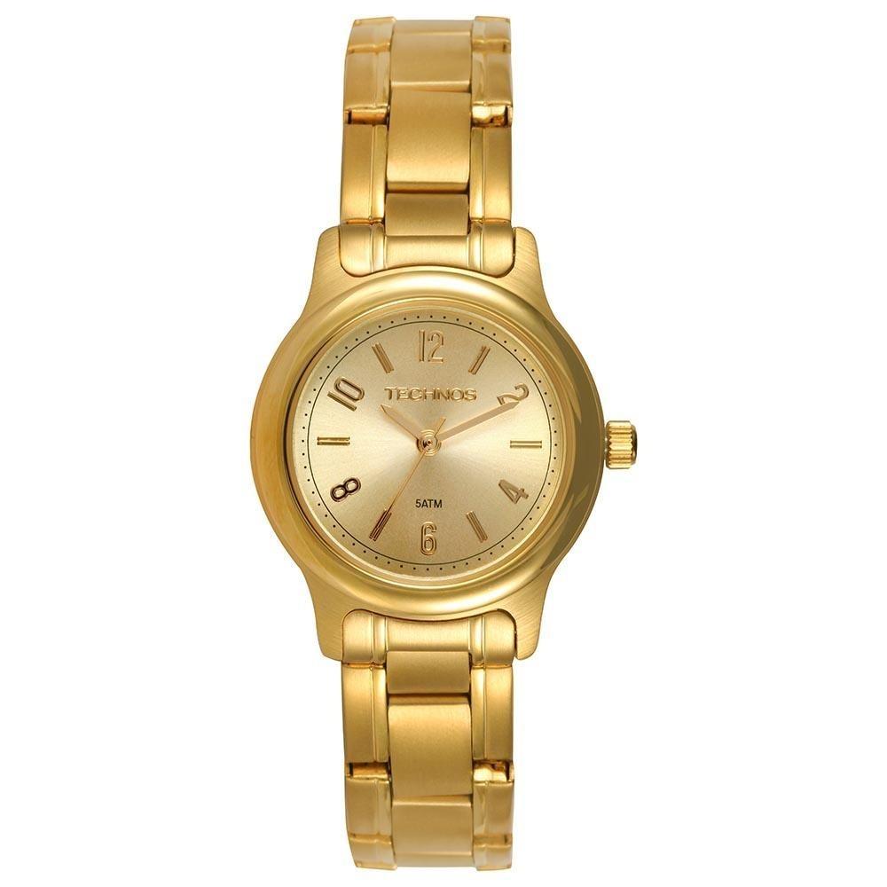 f31160a0a97 relógio feminino technos dourado pequeno 2035lry 4x orig. Carregando zoom.