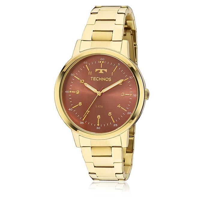 4a541cebfd1 Relógio Feminino Technos Elegance Dress 2035mfn 4r - R  315