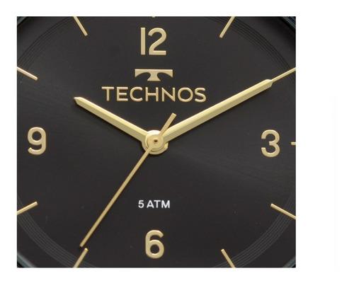 relogio feminino technos elegance dress 2035mps-4p original