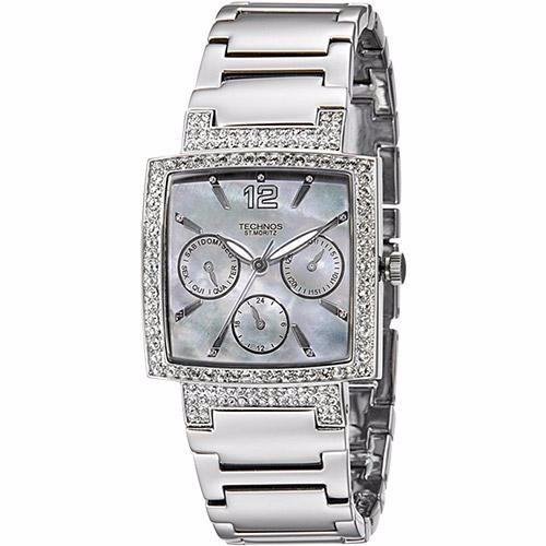 71419ddeebac8 Relógio Feminino Technos Multifunção Fashion 6p29dc 3b Prata - R  219,00 em  Mercado Livre