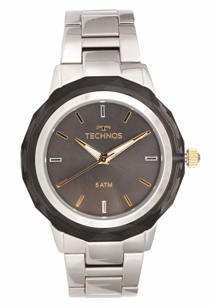 e092ab501b1 relógio feminino technos prata elegance 2035mcl 1c cristais. Carregando zoom .