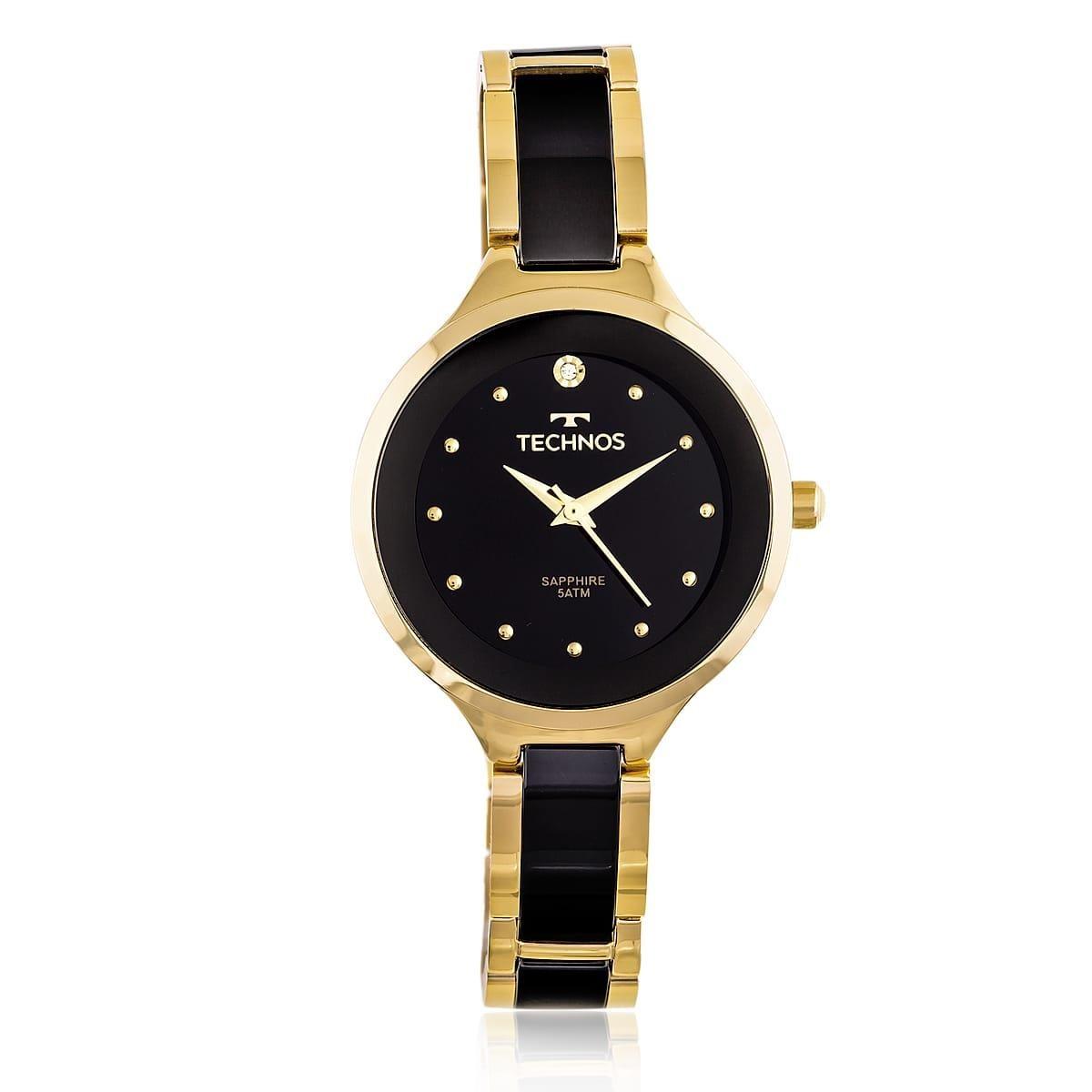 relógio feminino technos ref 2035lyw 4p elegance ceramic. Carregando zoom. 17a04761e3