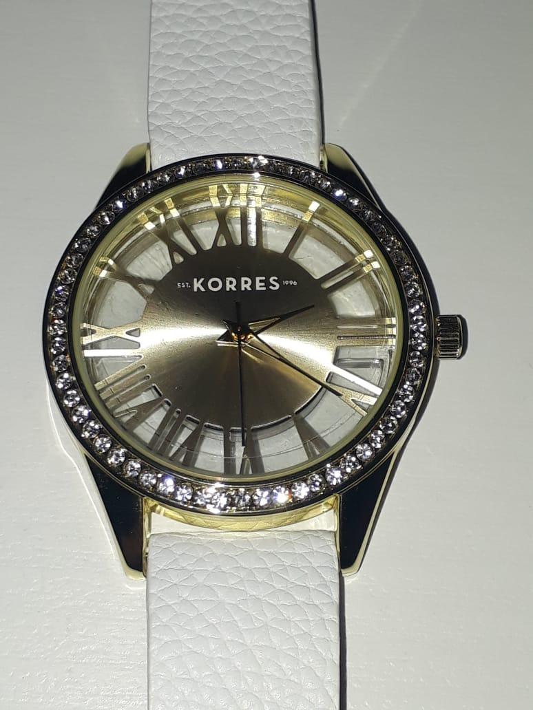 bf0a8cd7b9c relógio feminino tharros korres avon dourado. Carregando zoom.