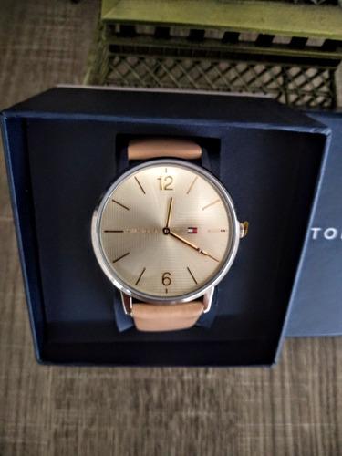 relógio feminino tommy hilfiger - pulseira couro - original