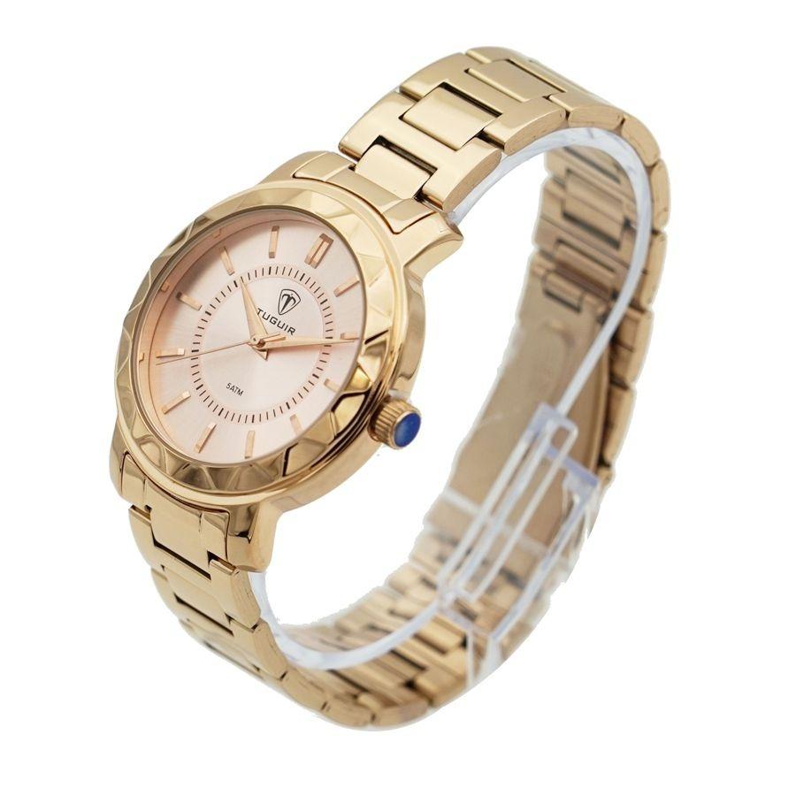 362d40030b5 Relógio Feminino Tuguir Analógico 5439l Rose - R  115