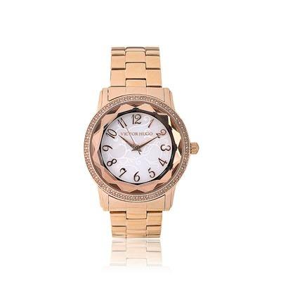 3ad7f98f0e1 Relógio Feminino Victor Hugo Vh10075lsg 28m - R  430