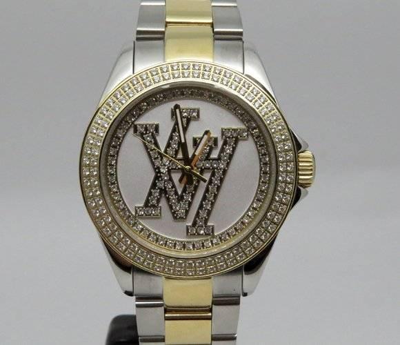 1b9503e0696 Relógio Feminino Victor Hugo Vh10134lssg 01m Dourado E Prata
