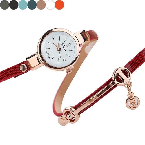 relógio feminino vintage pulseira bracelete lindo presente