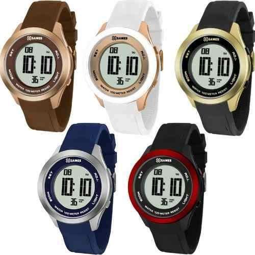 2164edc7486 Relógio Feminino X Games Digital Dourado rosê Prova D água