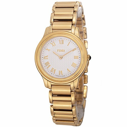 bf01a16a907 Relógio Fendi Italiano Feminino Máq. Suíça Dourado Original - R  1.280
