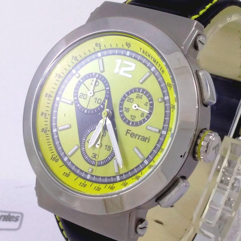 a6a449cb36c Fc007-a Relógio Ferrari Runner Cronógrafo Masculino Pulse... - R ...