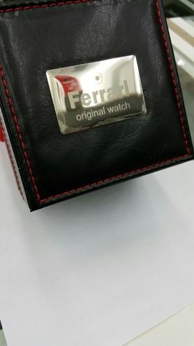 relógio ferrari masculino chocolate t13jo52 original,barato