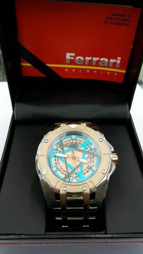 relógio ferrari masculino t12ka6 original e barato