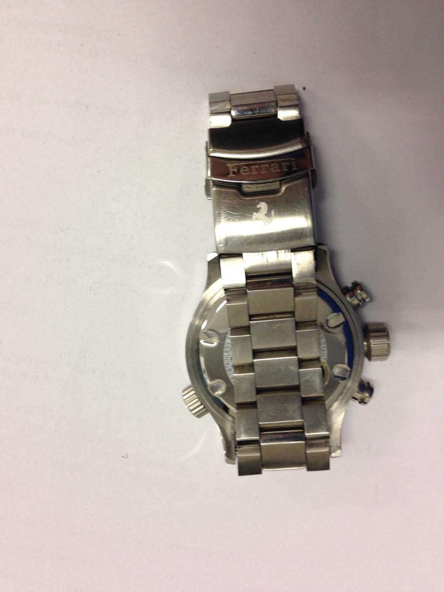 da5af441749 relógio ferrari - pulseira de metal. Carregando zoom.