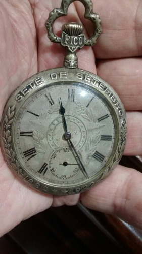 relógio fico independência do brasil  relógio de bolso 1922
