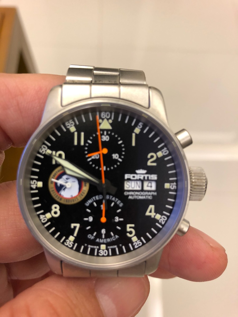 fa1f67530ef Relógio Fortis B42 Titanium Exclusivo 11 De Setembro . - R  5.400