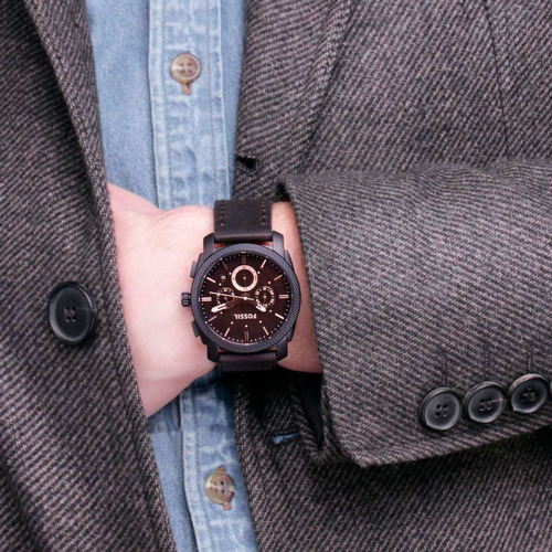 relógio fossil analógico ffs4656/z fs4656 loja autorizada