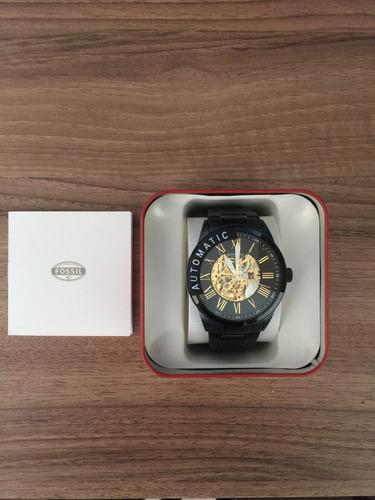 relógio fossil automático bq2243