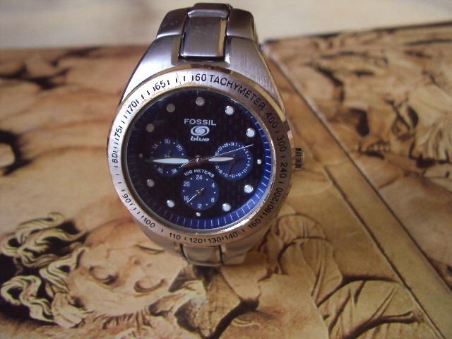 5e66a0d85a3 Relógio Fóssil Blue - R  350