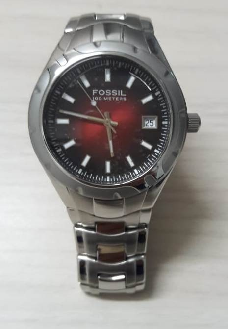 ff7252d28e6 Relógio Fossil Blue - R  380