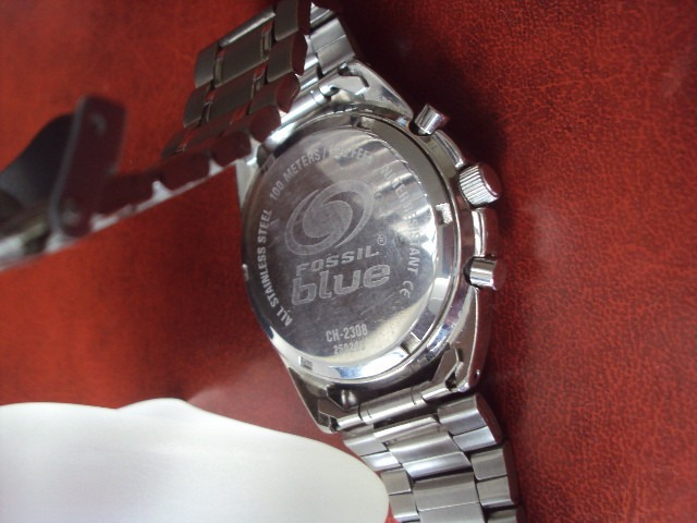 faf96fbad6f Relógio Fóssil Blue Cronógrafo - R  350