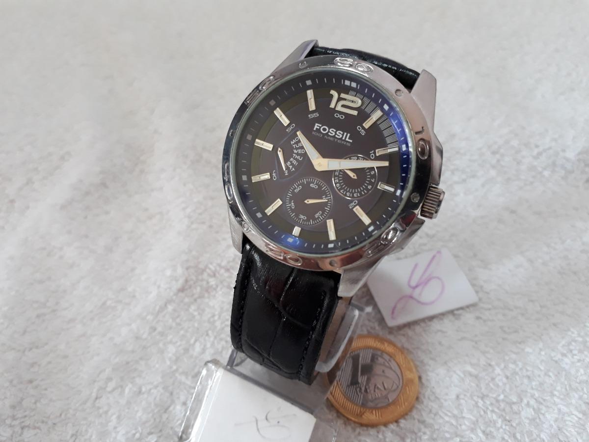 56450a4ba2e Relógio Fossil Blue