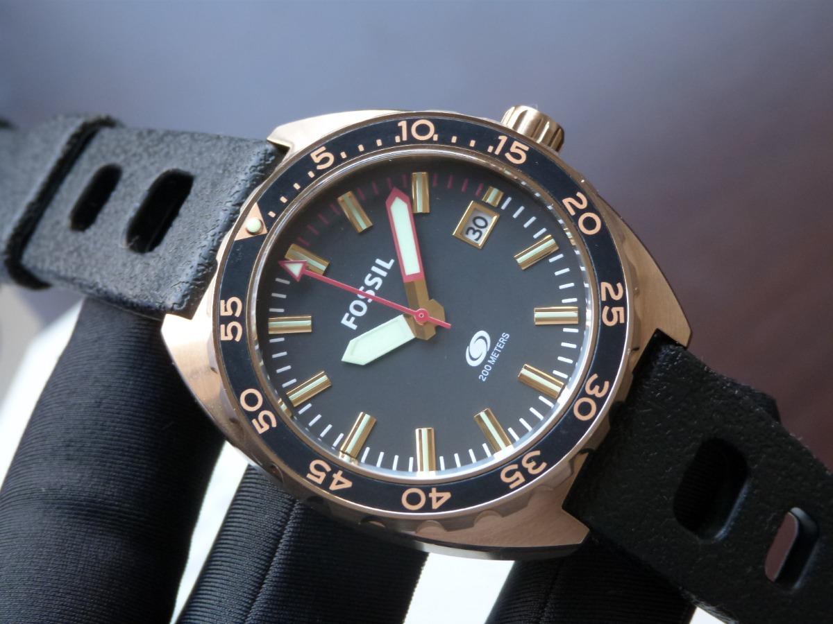 6ac1956718d relógio fossil breaker fs5050 8pn 200 metros diver mergulho. Carregando  zoom.