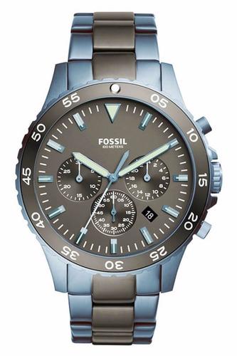 relógio fossil crewmaster masculino ch3097/5pn