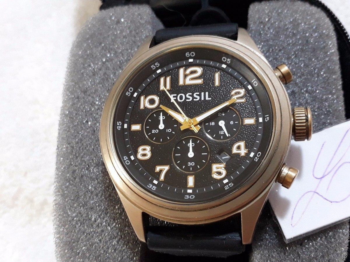 Relógio Fossil Cronógrafo + Estojo ! - R  199,00 em Mercado Livre 33ff555719