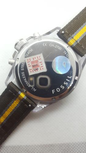 relógio fossil decker 2700 - veja o vídeo