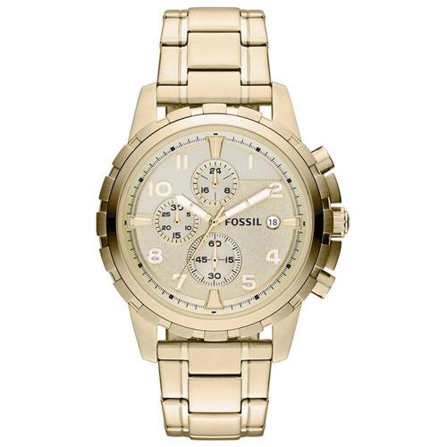 relógio fossil dourado - fs4867/4xn