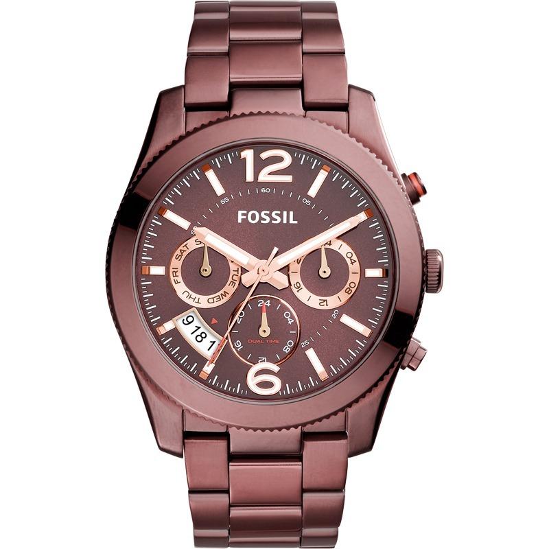 relógio fossil feminino bordô original promoção es4110 4tn. Carregando zoom. a504689440