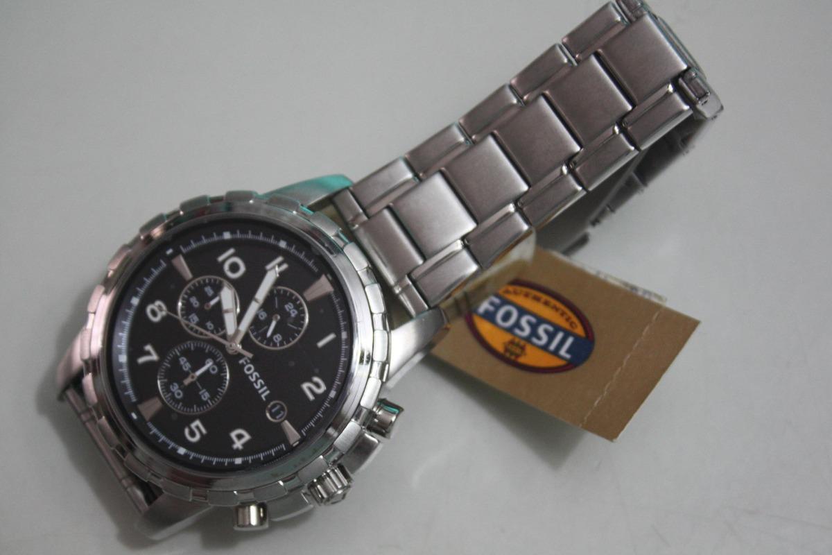 949f2b665d7 Relógio Fossil Men´s Fs4542 - Pulseira De Aço - Caixa Fossil - R ...