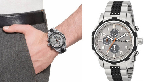 relógio fossil fs4888 com caixa - seminovo - r$ 600,00