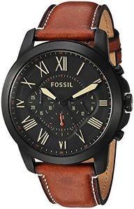 d6d111ed755 Relógio Fossil Grant Chronograph Fs5241 - R  700