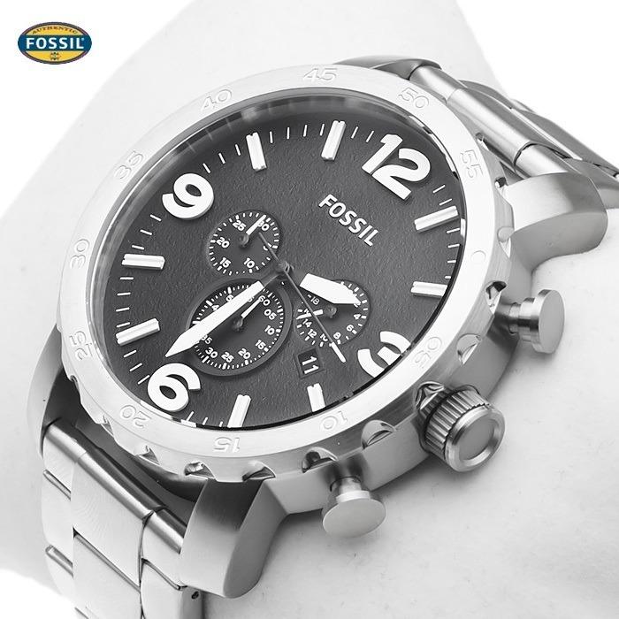 Relógio Fossil Jr1353 Pulseira Em Inox E Cronógrafo - R  735,00 em Mercado  Livre 7ebb0b6eb4