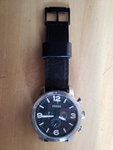 relógio fossil jr1401 com pulseiras couro e metal.