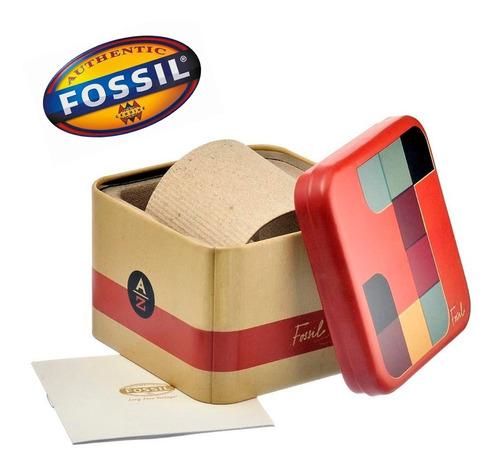 relógio fossil jr1401 masculino cor preto original nota fiscal garantia caixa 50mm + brinde oferta joclock store