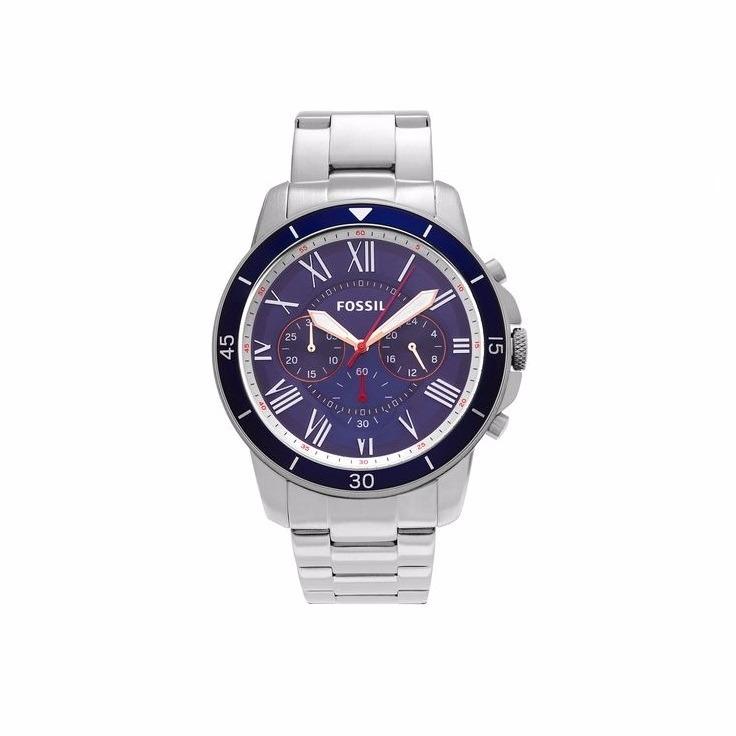 97de33cb0ef1f Relógio Fóssil Masculino Grant Sport Fs5336set 0an - R  675
