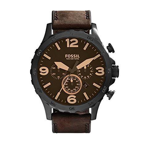 7148174b308 Relógio Fossil Nate Cronógrafo Jr1487 Original Masculino - R  740